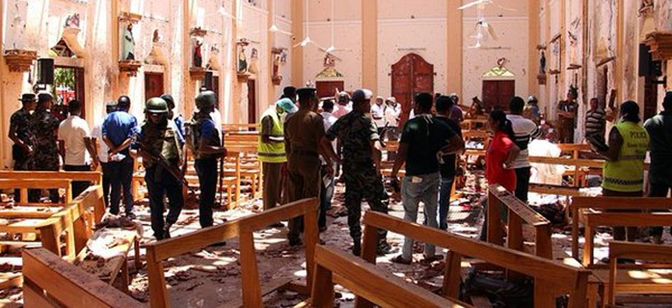 Serial blasts rock Sri Lanka