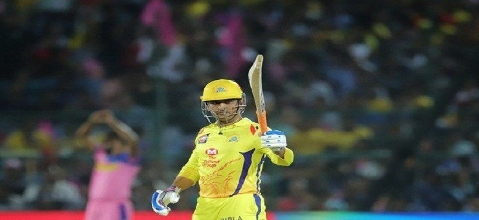 MS Dhoni blasted an unbeaten 84 but Chennai Super Kings lost by one run against Royal Challengers Bangalore in IPL 2019. (Image Credit: Twitter)