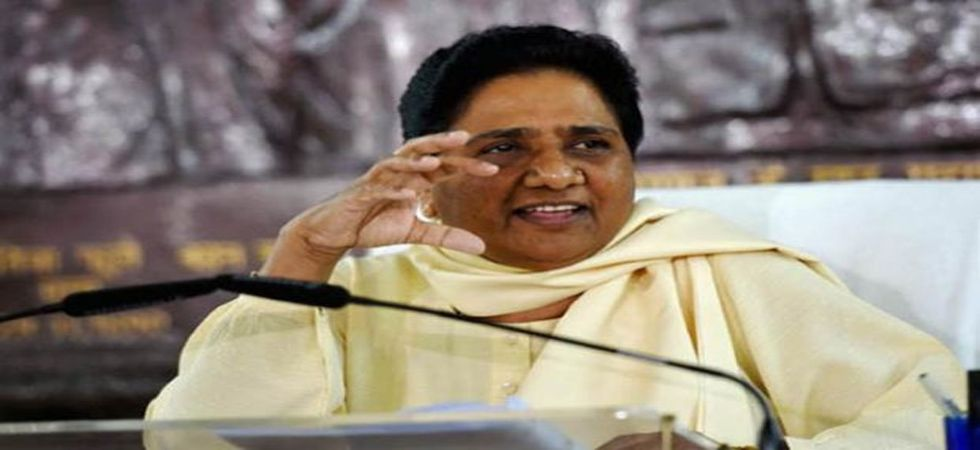 Mayawati said the BSP-SP-RLD combine chose to hear the 'mann ki baat' of 22 crore people in the state to enter into an alliance. (File Photo: PTI)