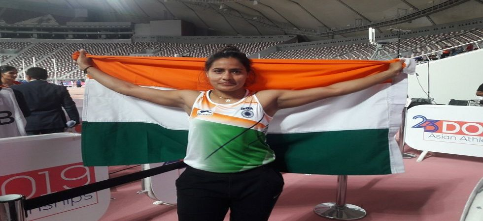Annu Rani secured silver in Javelin at the Asian Athletics Championship in Doha while Avinash Sable also settled for silver in the 3000m steeplechase. (Image credit: Athletics Federation of India Twitter)