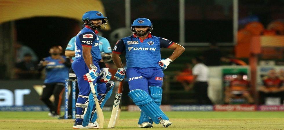 Shikhar Dhawan and Rishabh Pant blasted fifties as Delhi Capitals won by six wickets against Rajasthan Royals as Ajinkya Rahane's hundred went in vain. Get highlights here. (Image credit: Twitter)
