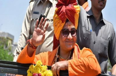 Sadhvi Pragya Singh Thakur files nomination from Bhopal ahead of fixed date, cites 'shubh muhurat'