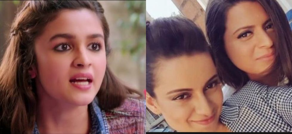 Alia Bhatt reacts to Kalank, Kangana's sister's allegations against her family