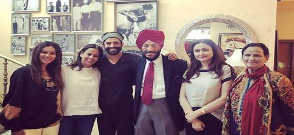 Here's what happened when Farhan Akhtar called Milkha Singh!