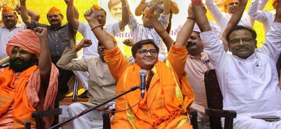 The Election Commission said Pragya Thakur's remark was a violation of chapter 4 of the model code of conduct. (File Photo)
