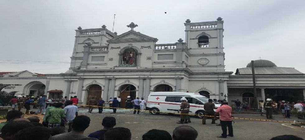 The Sri Lanka Police said 24 people have been arrested in connection with the bomb blasts that ripped through churches and hotels in Sri Lanka on Sunday. (File photo)