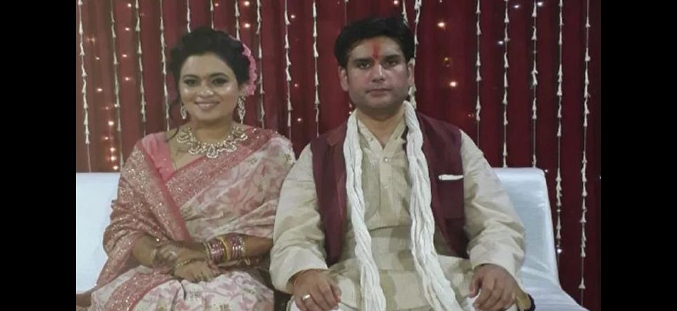 Rohit Shekhar and his wife Apoorva (File Photo)