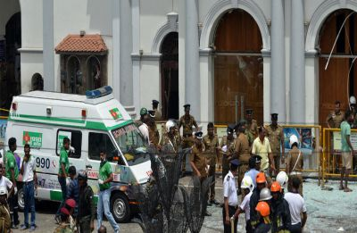 Islamic State claims responsibility for Sri Lanka bombings which killed 321 people