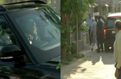 In Gujarat to cast his vote, PM Narendra Modi meets mother Heeraben at Gandhinagar home