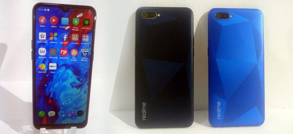 Realme C2 launched in India (Twitter/@sakshipandya)