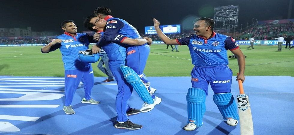 Delhi Capitals reach top of the table after upstaging Rajasthan Royals in Jaipur (Image Credit: Twitter)
