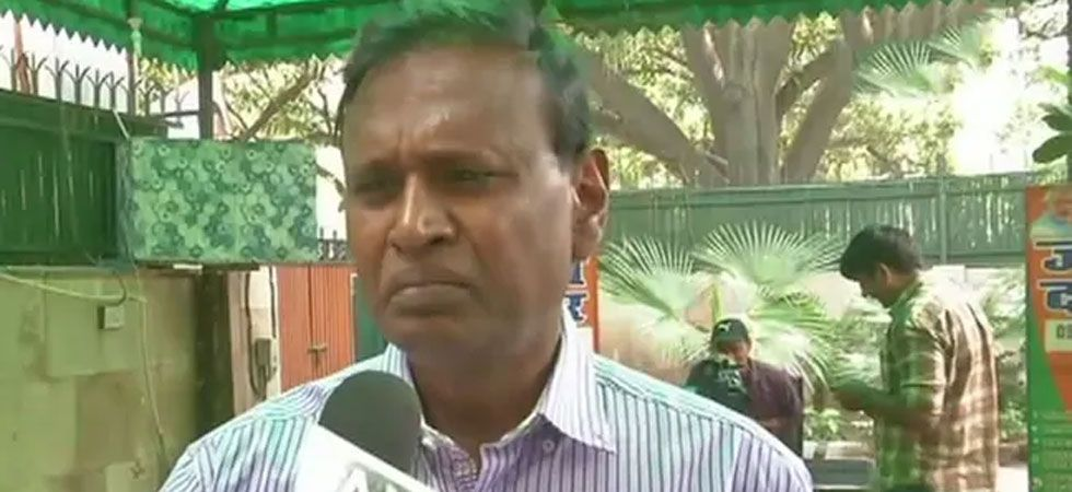 Udit Raj said he will wait till an announcement of the official BJP candidate on the North-West Delhi. (Image Credit: ANI)