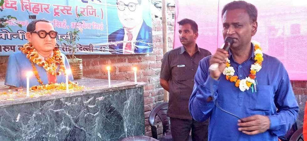 Udti Raj, BJP MP from North-west Delhi (Photo: Twitter/@Dr_Uditraj)