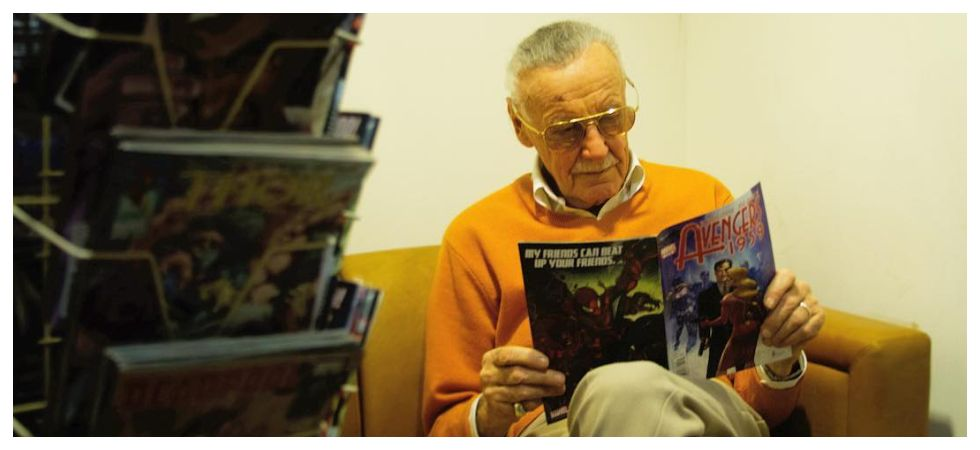 Marvel Studios working on behind-the-scenes video of Stan Lee's cameos (Photo: Instagram)