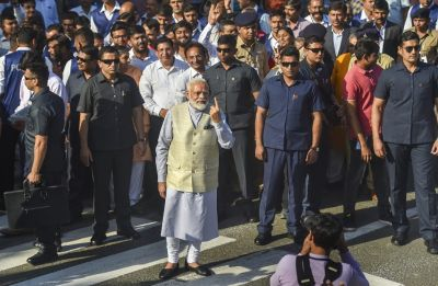Wave in favour of BJP giving sleepless nights to Opposition: PM Modi