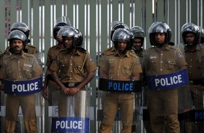 Sri Lanka puts all police stations in Colombo on high alert following reports of lorry, van carrying explosives