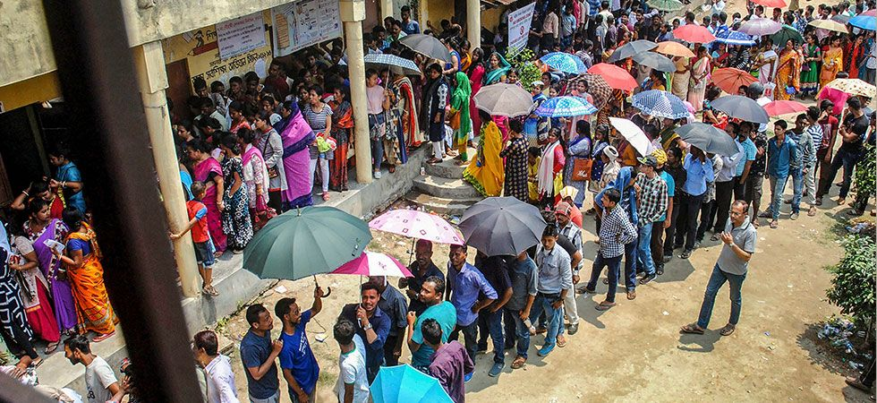 Trend suggested that average voting in the state in the third phase of general elections will be go up. (Representational Image: PTI)
