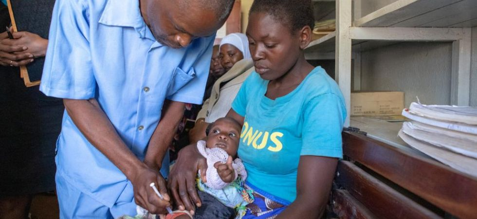 World's first Malaria vaccine launched in Malawi (Photo Credit: Twitter/ @WHO)