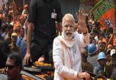 'Show of strength': PM Modi's roadshow in Varanasi today, to file nomination on April 26