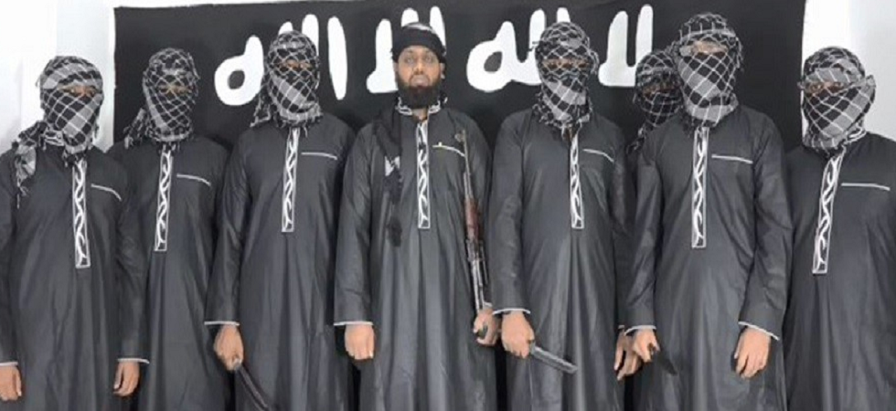 Photograph of National Tawheed Jamaat terrorists released by ISIS.
