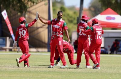 Unbeaten Oman upstaged Hong Kong to seal ODI status