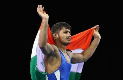 Amit Dhankar settles for silver, Rahul Aware secures bronze in Asian Wrestling Championship