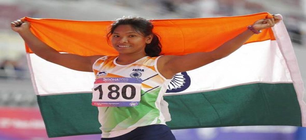 Swapna Barman and the 4x400m mixed relay team clinched a silver each while Sanjivani Jadhav won a bronze in 10000m race on the third day of the Asian Athletics Championships. (Image credit: Twitter)