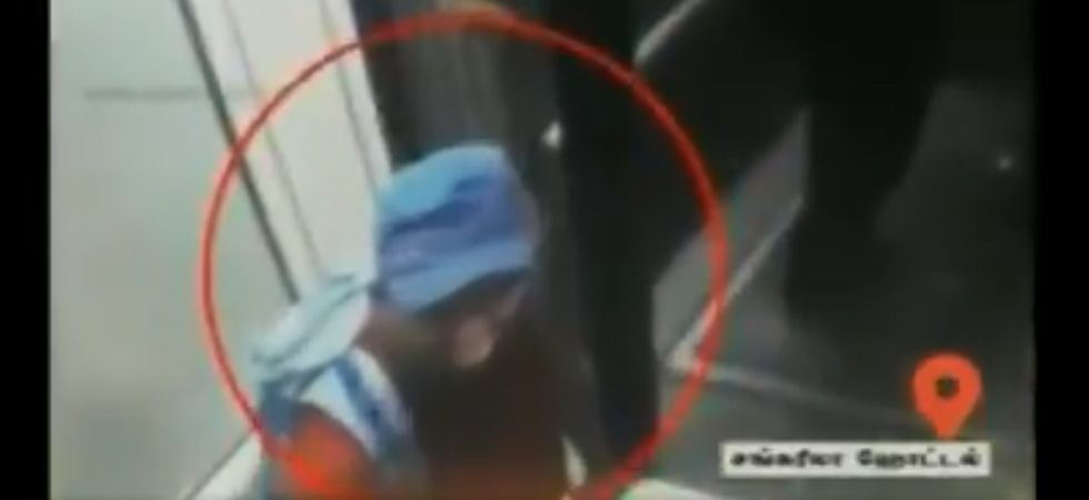 Watch: CCTV footage shows suspected terrorist at Colombo's Shangri-La Hotel on Easter Sunday