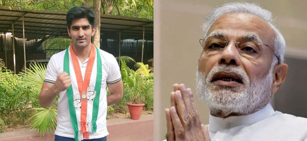 Boxer Vijender Singh dismisses 'Modi wave' (Photo Credit: Twitter/ @boxervijender )