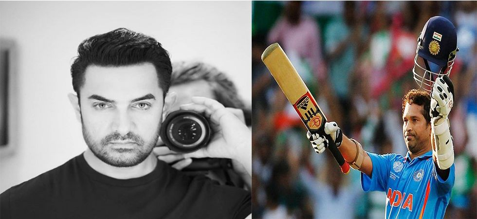 Aamir Khan wishes the Master Blaster on his birthday (file photo)