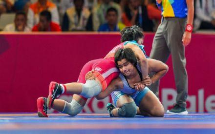 Divya Kakran, Manju Kumari and Seema enter bronze medal