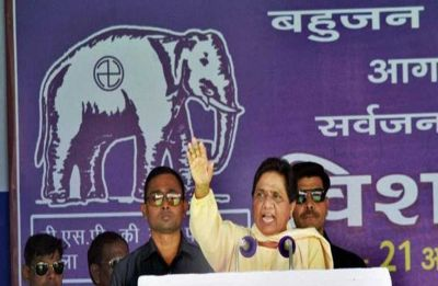 In Uttar Pradesh's Kannauj, Mayawati seeks votes for Akhilesh Yadav's wife Dimple