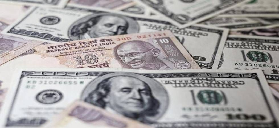Rupee dives to 6-week low as crude spikes above USD 75 per barrel (File Photo)
