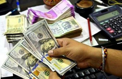 Rupee tumbles 22 paise against dollar on crude concerns
