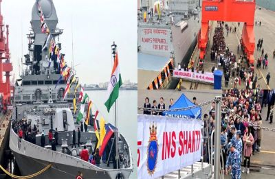 India sends biggest stealth destroyer for China's navy celebrations, 'iron brother' Pakistan remains absent