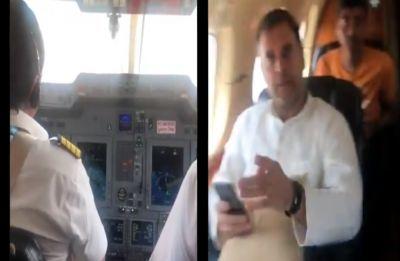'Engine trouble on our flight': Rahul Gandhi tweets cockpit video, plane returns to Delhi