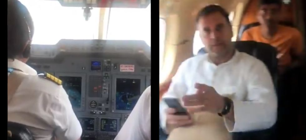 'Engine trouble on our flight': Rahul Gandhi tweets cockpit video, plane returns to Delhi