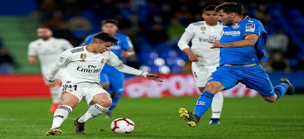 Real Madrid were held to a 0-0 draw by Getafe, who are gunning for a UEFA Champions League spot. (Image credit: Twitter)