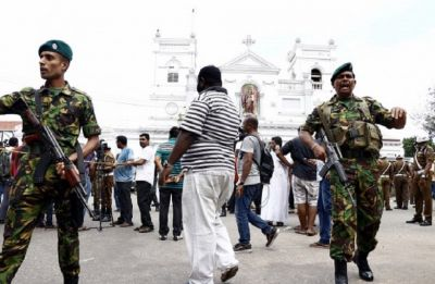 Sri Lanka: Blast near Colombo as soldiers engage in shootout during search linked to Easter attacks