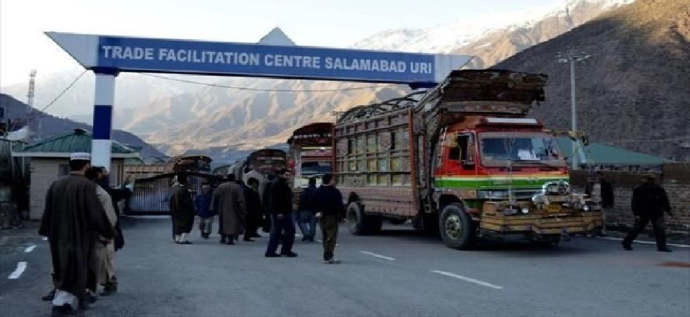 The trade was halted at Salamabad of Baramulla in Kashmir region, and Chakkan-da-Bagh of Poonch district in Jammu region