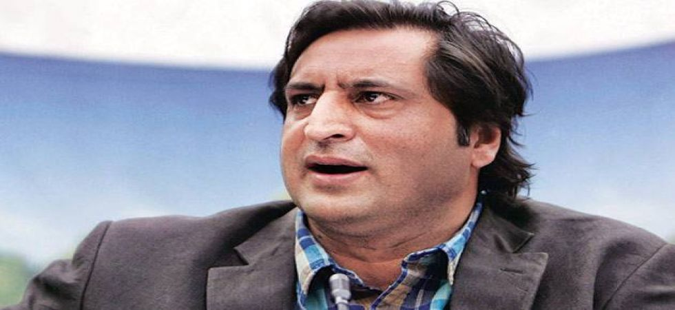 "Sajad Lone on Friday called former chief minister Farooq Abdullah's for praising for Yasin Malik ""utterly disdainful hypocrisy"""
