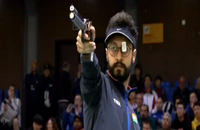 Abhishek Verma wins gold in maiden ISSF World Cup, secures Olympic quota