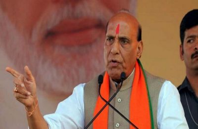BJP is in politics for building nation, says Rajnath Singh