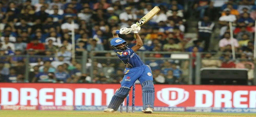 Hardik Pandya blasted 91 off 34 balls but it went in vain as Mumbai Indians lost by 34 runs to Kolkata Knight Riders. Get highlights here. (Image credit: Twitter)