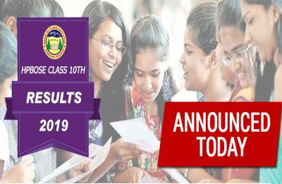 LIVE NOW HP 10th Result 2019 : HPBOSE Matric result OUT, 60.79  pass percent