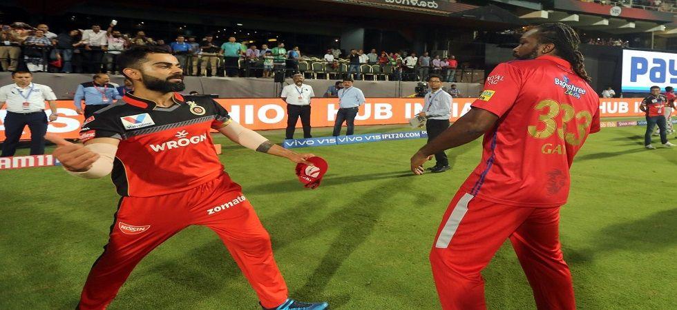 KL Rahul and Chris Gayle play for Kings XI Punjab (Image Credit: Twitter)