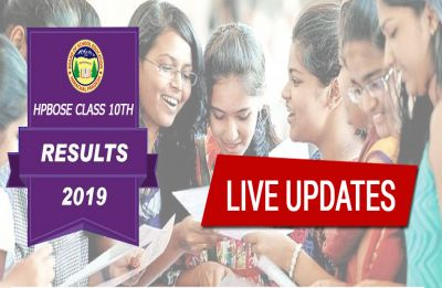 ANNOUNCED! HPBOSE 10th Matric Result 2019, CHECK SCORES HERE | LIVE Updates