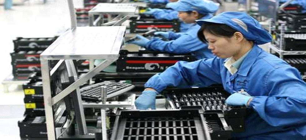 The new export and import orders sub-index rose from March, but remained in contraction territory. (File photo)