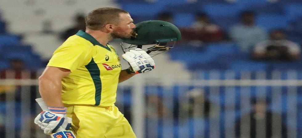 Aaron Finch was concerned about World Cup spot (Image Credit: Twitter)