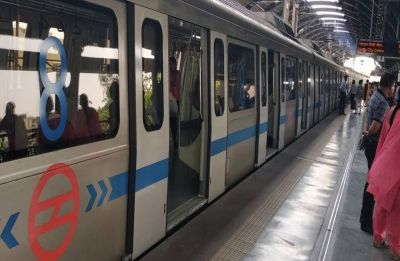 Man jumps before Delhi Metro train at Dwarka Sector 9 station, critically injured